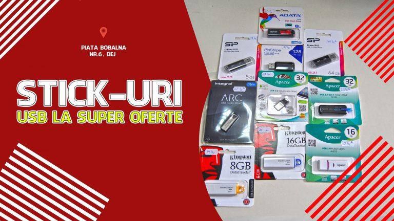 🎖🕹LA PC MANIA GASESTI STICK-URI USB DE MICA-MARE PUTERE LA PRETUL CEL MAI MIC DIN ORAS!🤩👍