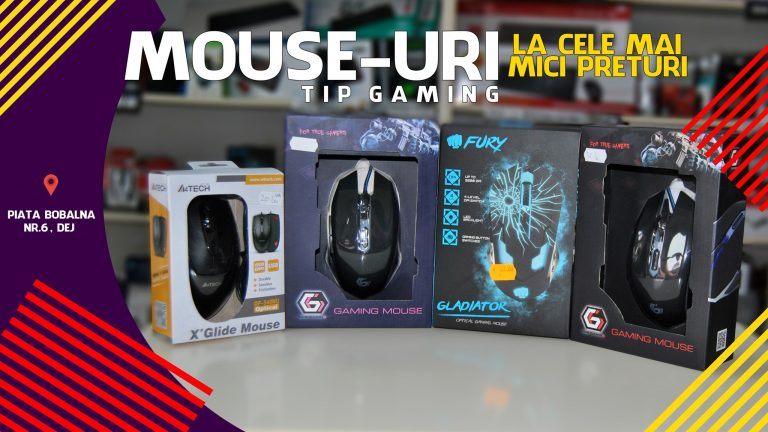 LA PC MANIA GASESTI SUPER OFERTE LA MOUSE-URI DE TIP GAMING!