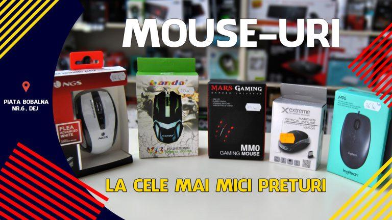 LA PC MANIA GASESTI SUPER OFERTE LA MOUSE-URI DE ORICE TIP!