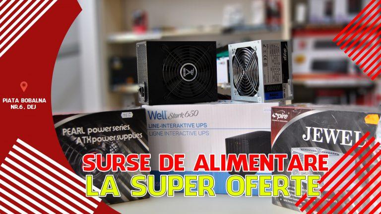 LA PC MANIA GASESTI SURSE DE ALIMENTARE LA SUPER OFERTE